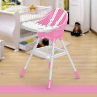 Dolu Detská jedálenská stolička ružová 2
