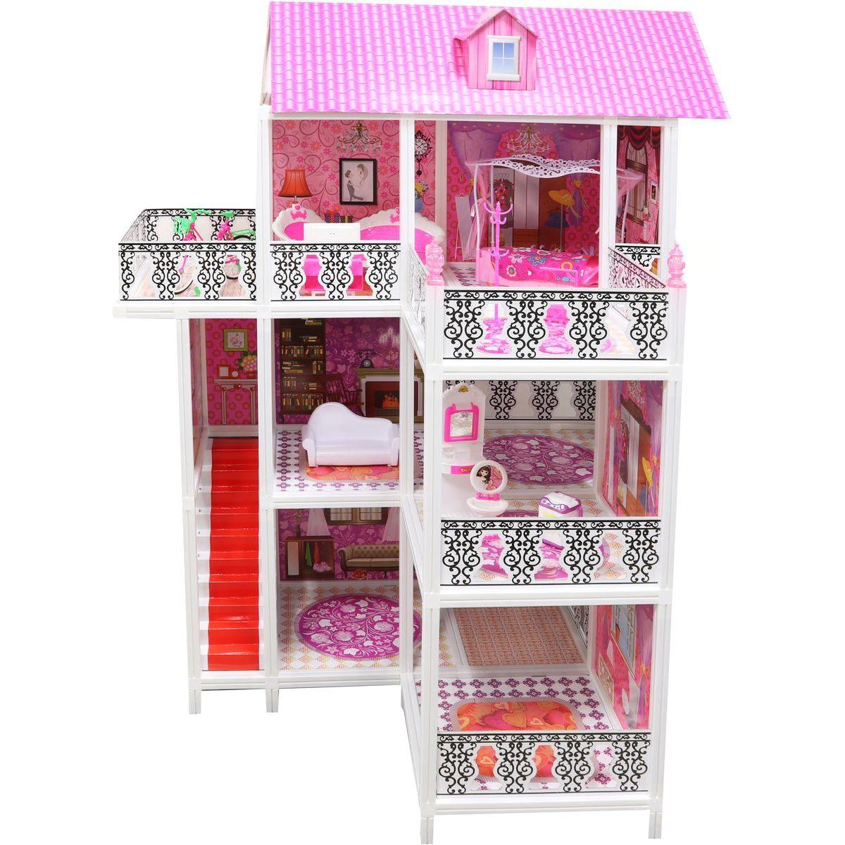 Domček pre bábiky trojposchodový 1794