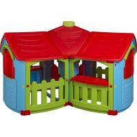 Domček Veľká vila 2 miestnosti - červená strecha - Poškodený obal 2