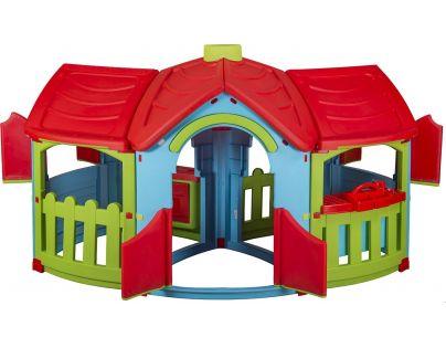 Marian Plast Detský záhradný domček Grand Villa - Červená strecha