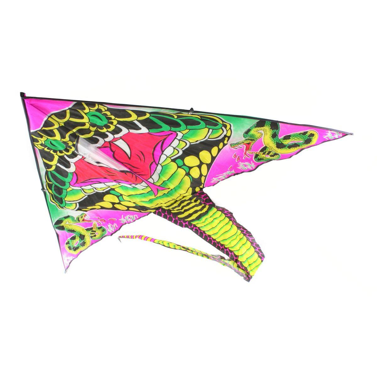 Drak lietajúci nylonový s chvostom 120 cm