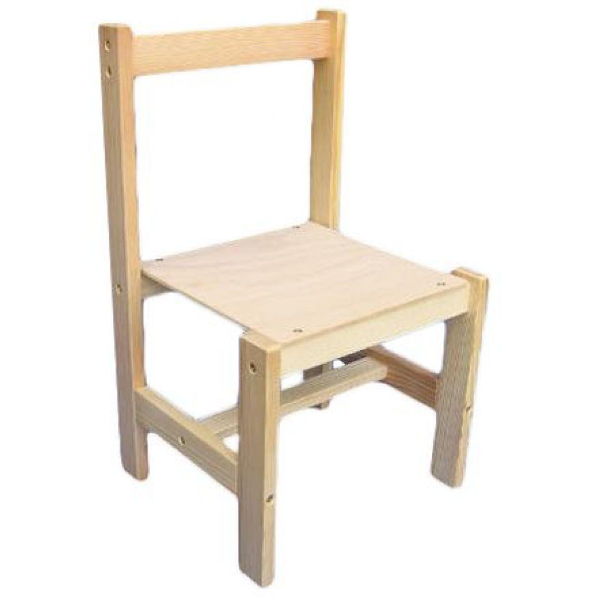 Drevené hračky Jaroš Drevená stolička