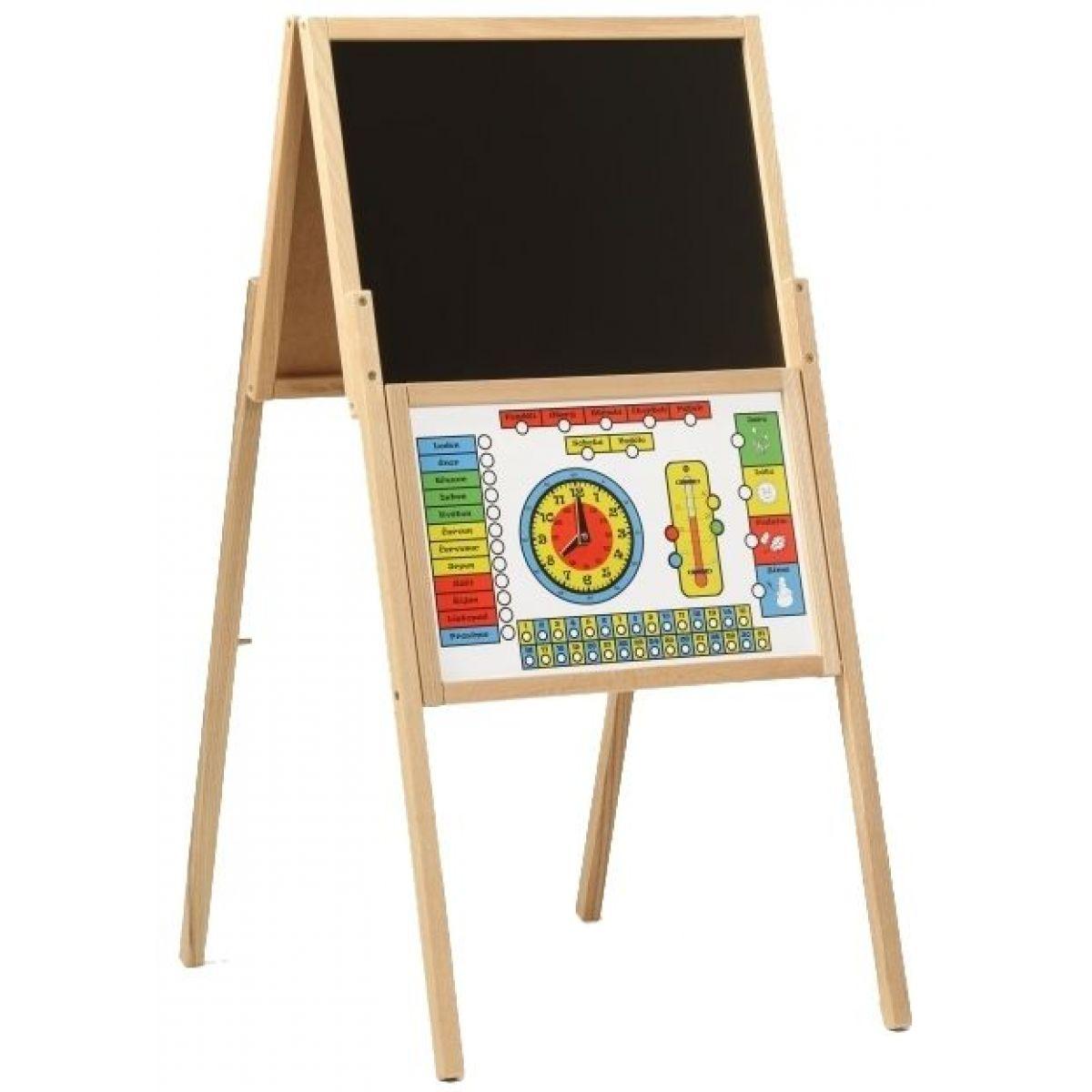 Dřevěné hračky Jaroš Tabuľa skladacia A magnetická