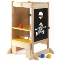 Dřevěné hračky Jaroš Učiaca veža viacúčelová