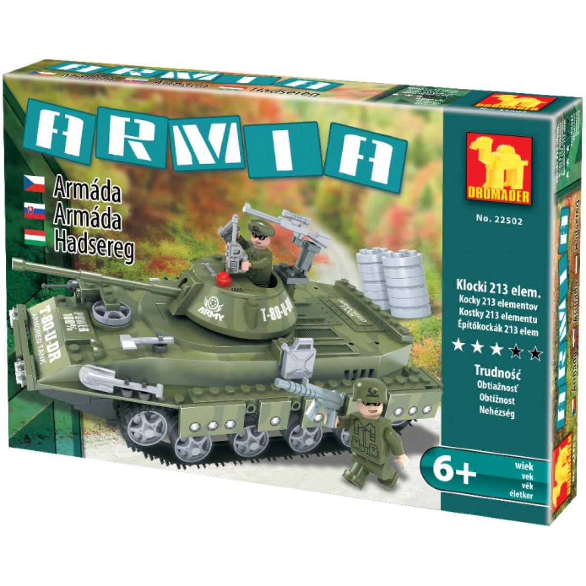 Dromader 22502 Vojáci Tank 213ks