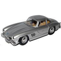 Welly Auto Mercedes - Benz 300 SL 1:24 stříbrný