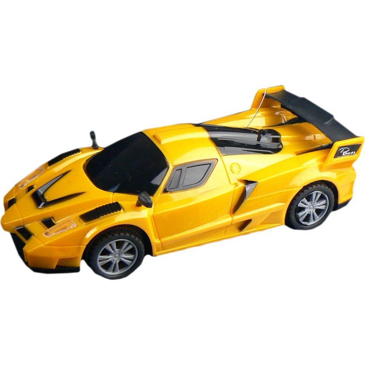 Dromader RC Auto Racing Žluté s tmavými skly