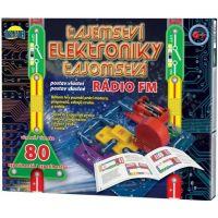 Teddies Tajomstvo elektroniky Rádio 80 experimentov