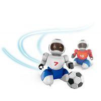 Dva Roboti s loptičkou na diaľkové ovládnu a dvoma gólmi 2
