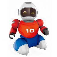 Dva Roboti s loptičkou na diaľkové ovládnu a dvoma gólmi 3