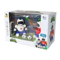 Dva Roboti s loptičkou na diaľkové ovládnu a dvoma gólmi 5