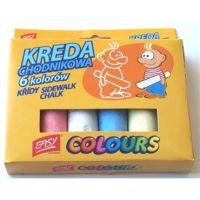 Easy Colours Chodníkové křídy 6ks
