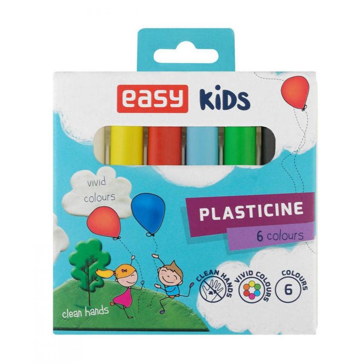 Easy Creative plastelína 6 farieb 96g