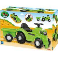 Odrážadlo Traktor s vlečkou zelené 3