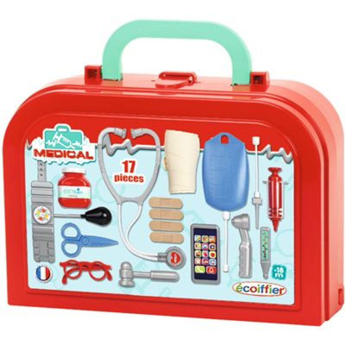 Ecoiffier Lekársky kufrík Deluxe