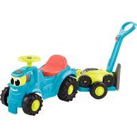 Ecoiffier Odrážadlo Traktor s vlečkou a kosačkou