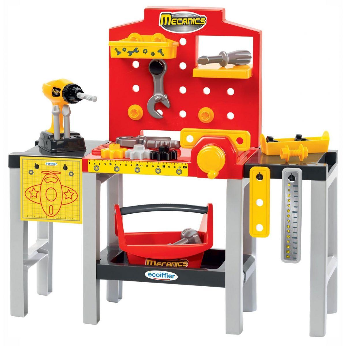 Ecoiffier Pracovný stôl pre najmenších - Poškodený obal