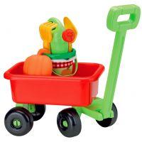 Ecoiffier Retro vozík s krhličkou