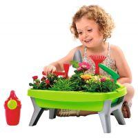Ecoiffier detská záhradka s formičkami zelená 3