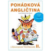Pohádková angličtina + 2CD - Lucie Poslušná; Věra Faltová