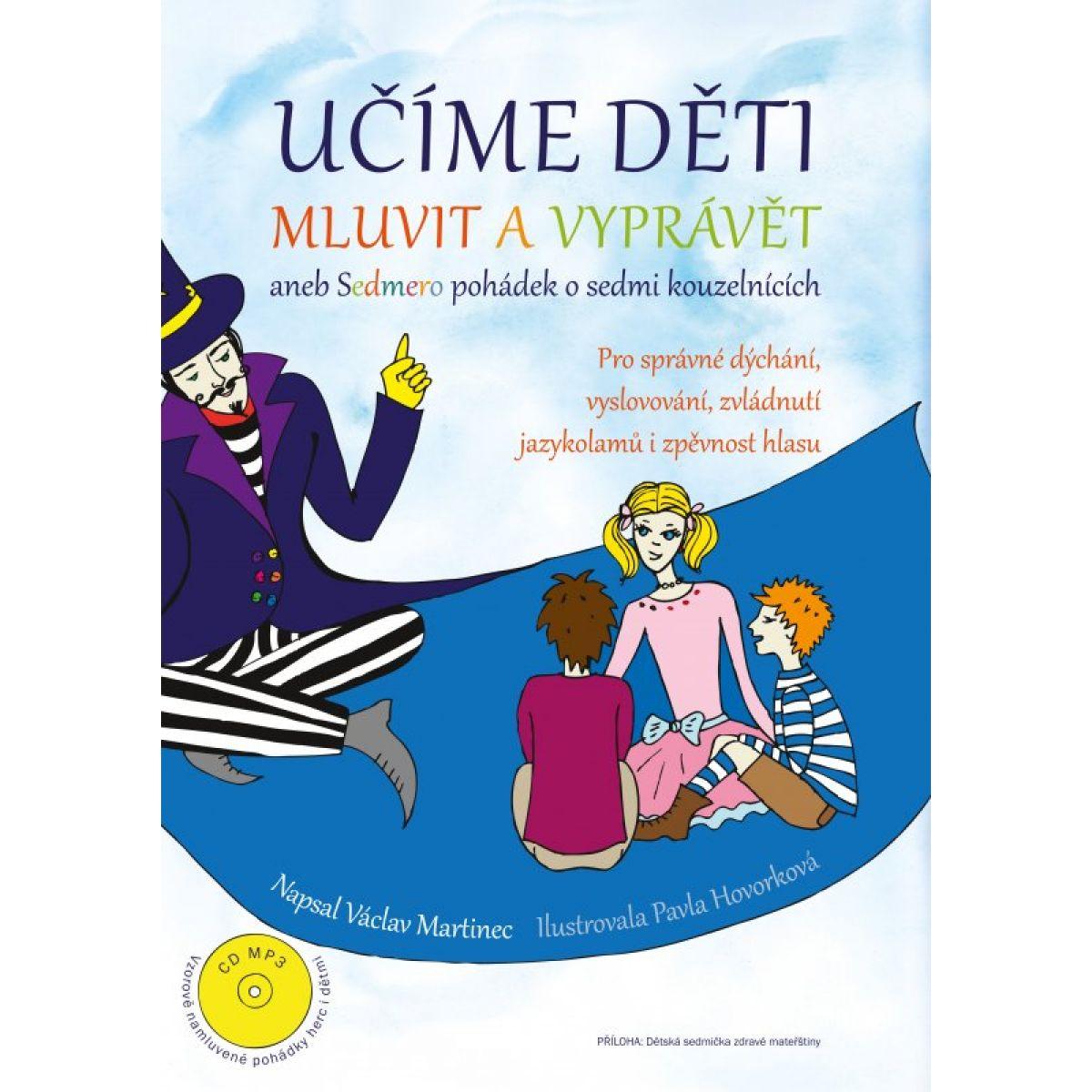 Učíme deti hovoriť a rozprávať - Kniha + CD audio, MP3