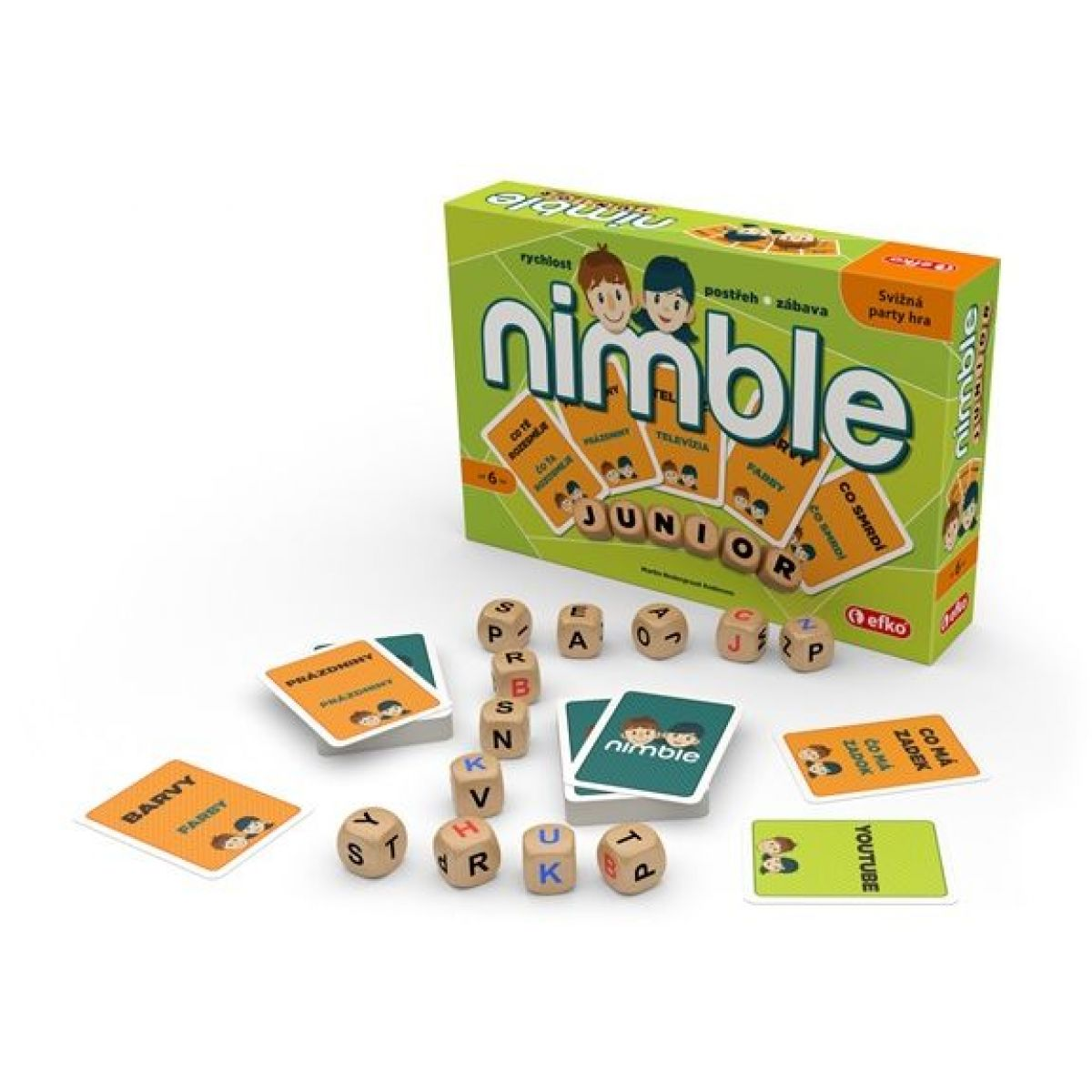 Efko Nimble Junior párty hra pre deti