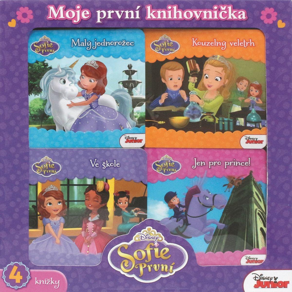 Egmont 4 knihy Sofia prvý Moja prvá knihovníčka
