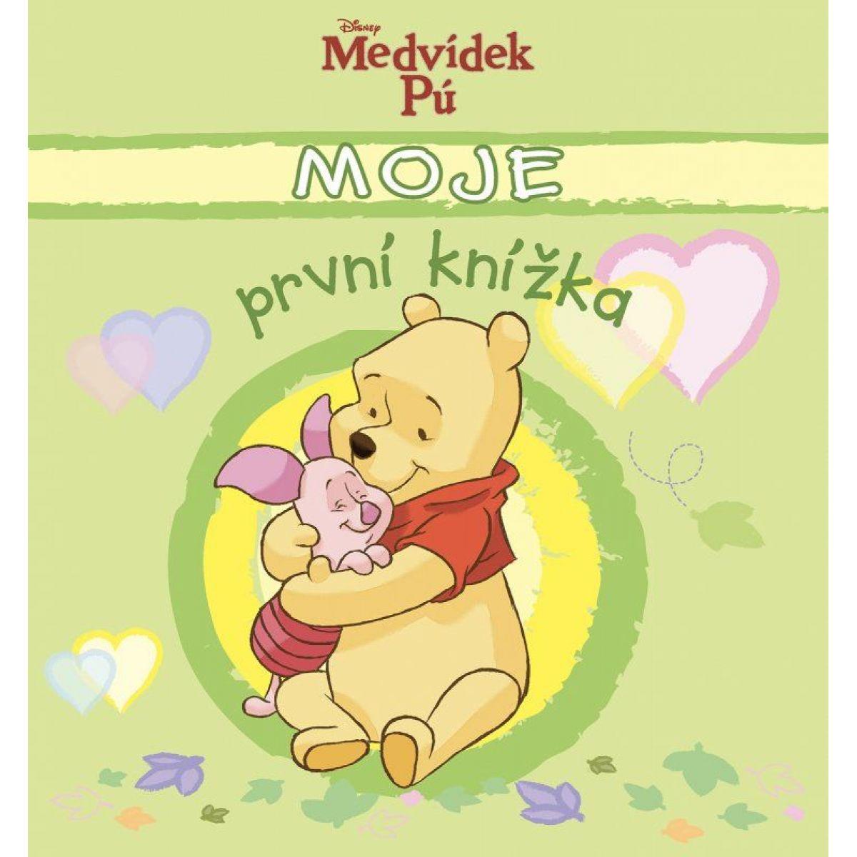 Medvídek Pú Moje první knížka kolektiv CZ