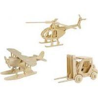 Eichhorn 3D puzzle prepravný prostriedok Vrtuľník 3