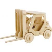 Eichhorn 3D puzzle prepravný prostriedok Vysokozdvižný vozík