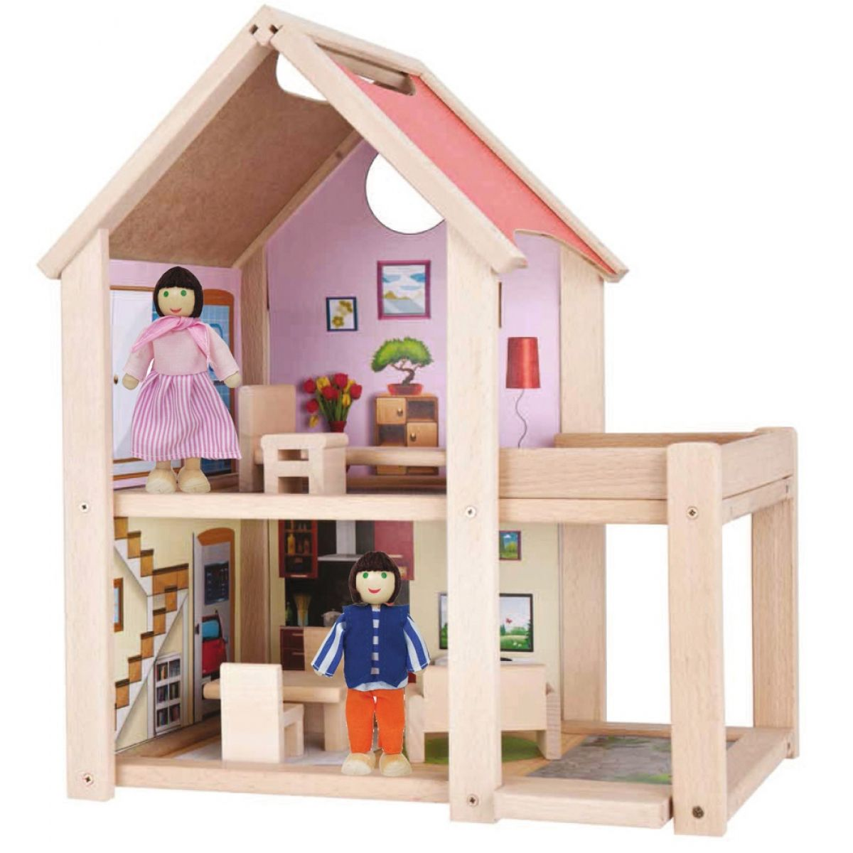 Eichhorn Domeček pro panenky dřevěný