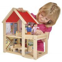 Eichhorn Domeček pro panenky dřevěný 2