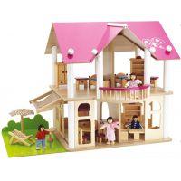 Eichhorn Drevený domček s nábytkom a bábikami