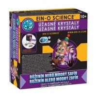 EIN-O Science Úžasné krystaly Růženín nebo modrý safír