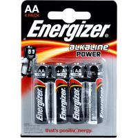Energizer Alkaline Power AA 4pack