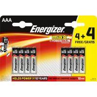 Energizer MAX AAA 4+4 zdarma