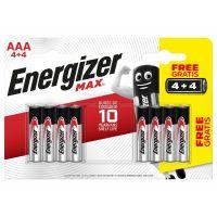 Energizer MAX AAA 4 + 4 zdarma