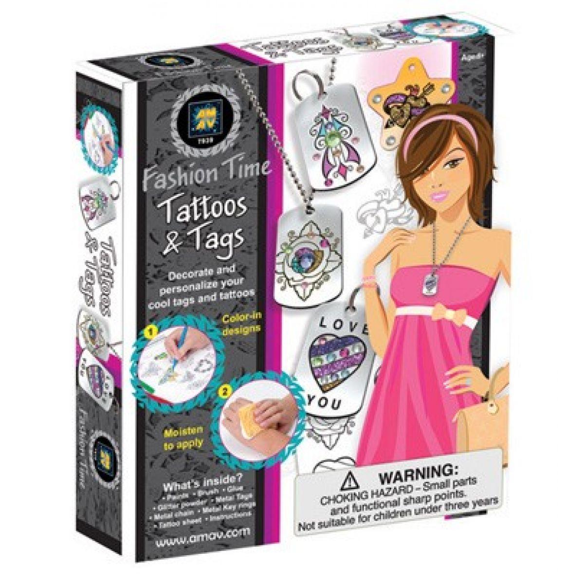 Fashion Time výroba tetování přívěšků