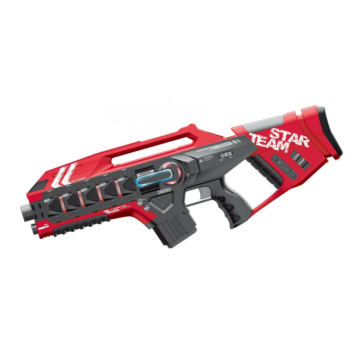 EP Line Laser game Sada s dvomi veľkými zbraňami červená a žltá