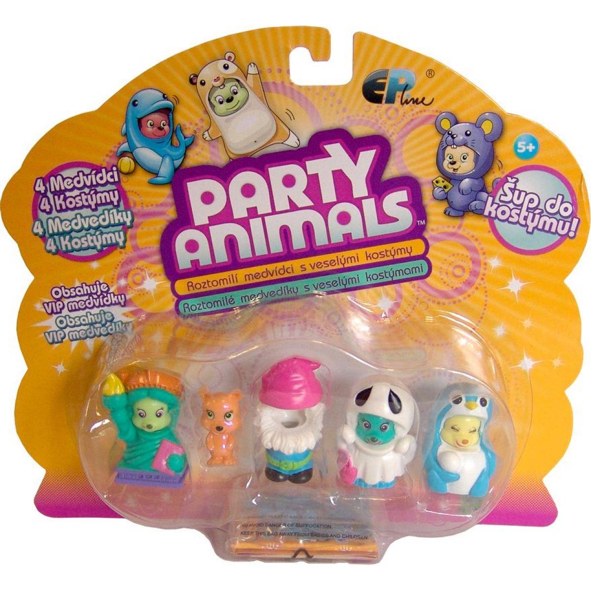 EP Line Party Animals blistr 4