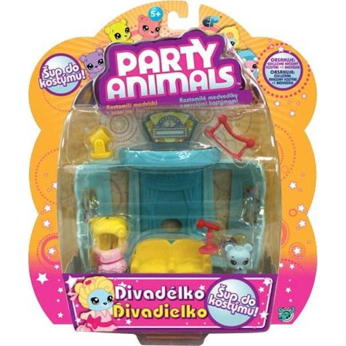 EP Line Party Animals Hrací sada Divadélko