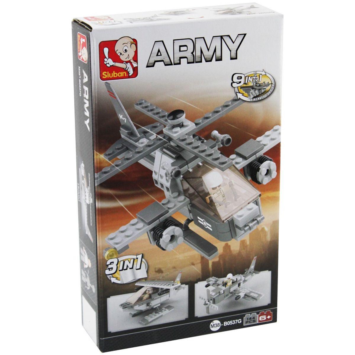 Sluban 3v1 Vrtulník