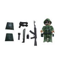EPline Figúrka Vojaci Špeciálna výsadková jednotka Scout A 2