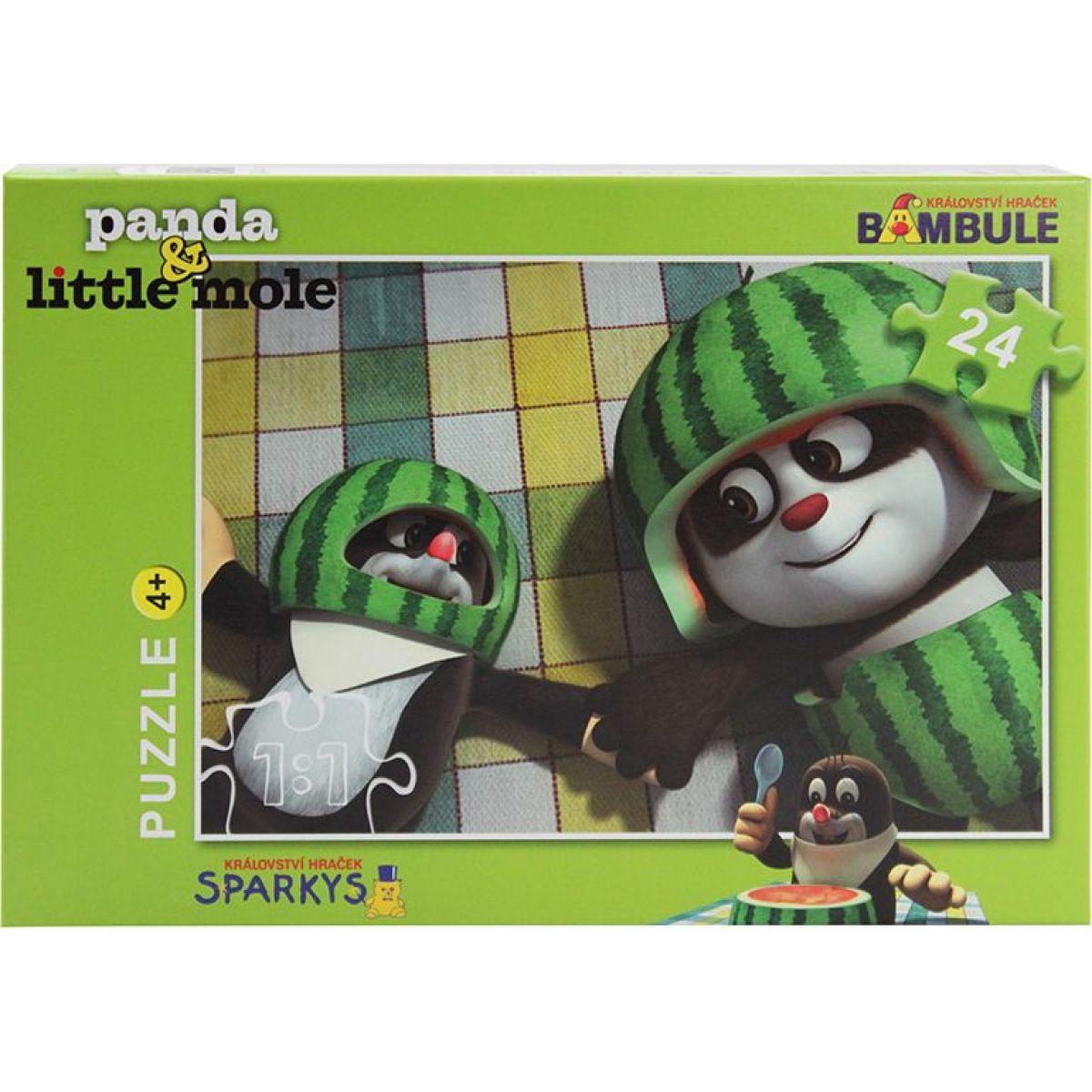 EPline Krtek a Panda 24 dílků