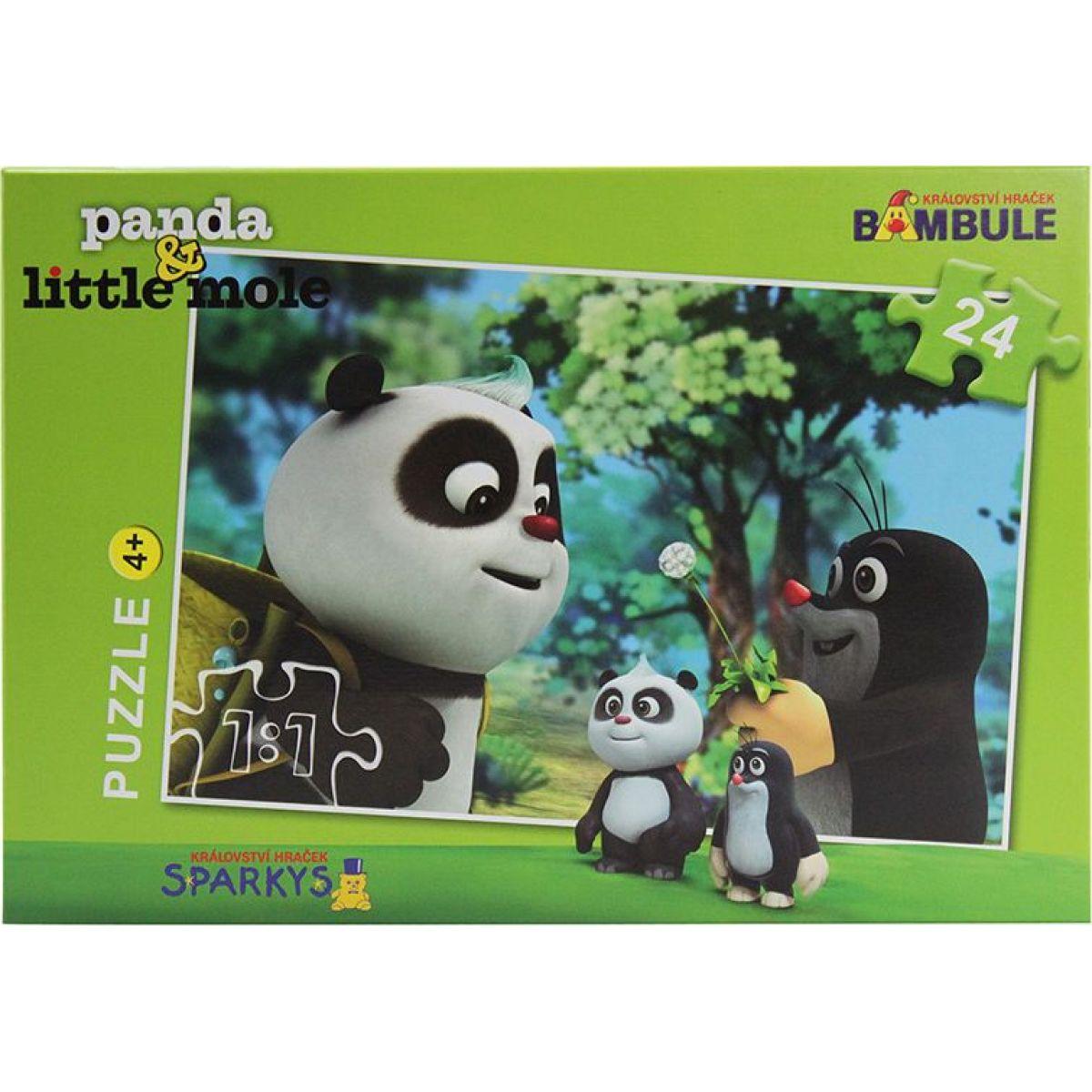 EPline Krtek a Panda na výletě 24 dílků