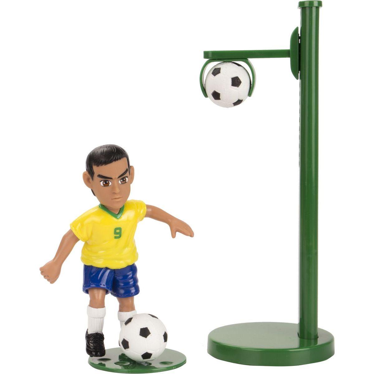 EP Line Shooters futbalista s držiakom na loptu Brazílie