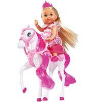 Evi Love Bábika Evička Princezná s koňom