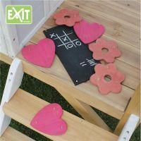 Exit Dekoračný set pre domčeky - kvetiny, srdcia
