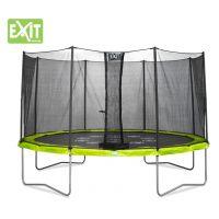 Exit Trampolína Twist so sieťou 244 cm Green Grey