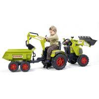 Falk Šlapací traktor Claas Axos s prednou a zadnou lyžicou 2